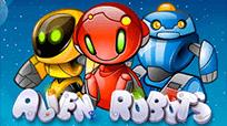 Играть онлайн в автомат Alien Robots